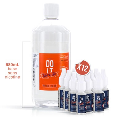 Pack Base Booster 800ml - EASY TO MIX - DO IT