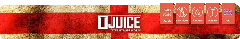 Gamme anglaise e-liquide premiums TJuice Red Astaire