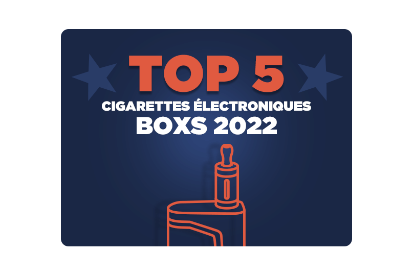 top 5 meilleure e-cigarette box