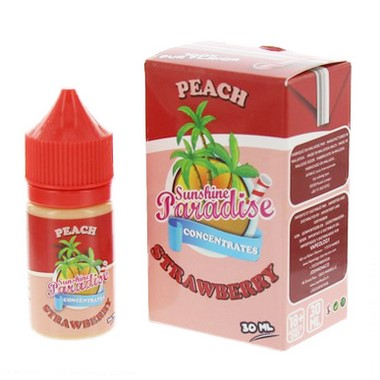 Arôme Peach Strawberry - Sunshine Paradise