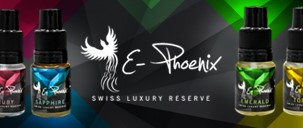 gamme e liquide suisse Swiss Luxury Reserve