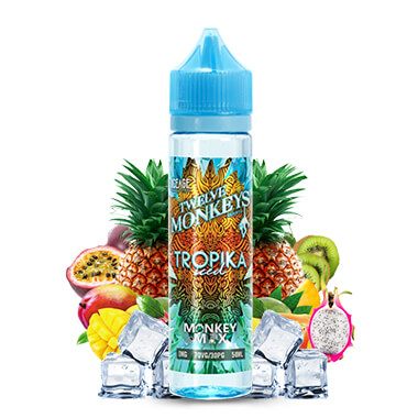 Tropika Iced 50ml - Ice Age - Twelve Monkeys