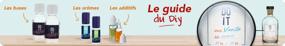 Comment faire son e liquide ? Le Guide du DIY !