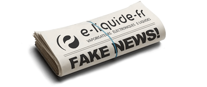 Fake news vape