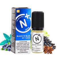 Black n Blue sel de nicotine - Nicotine Plus - TJuice