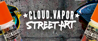 Cloud Vapor - Street Art