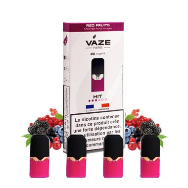 Cartouches Red Fruits - Vaze