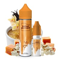 Vanilla & Popcorn 60ml - Instinct Gourmand