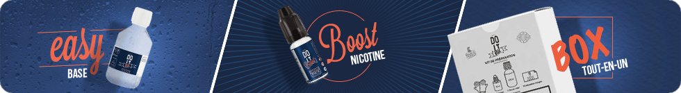 Bases DIY DO IT BOX DO IT EASY DO IT BOOST booster de nicotine